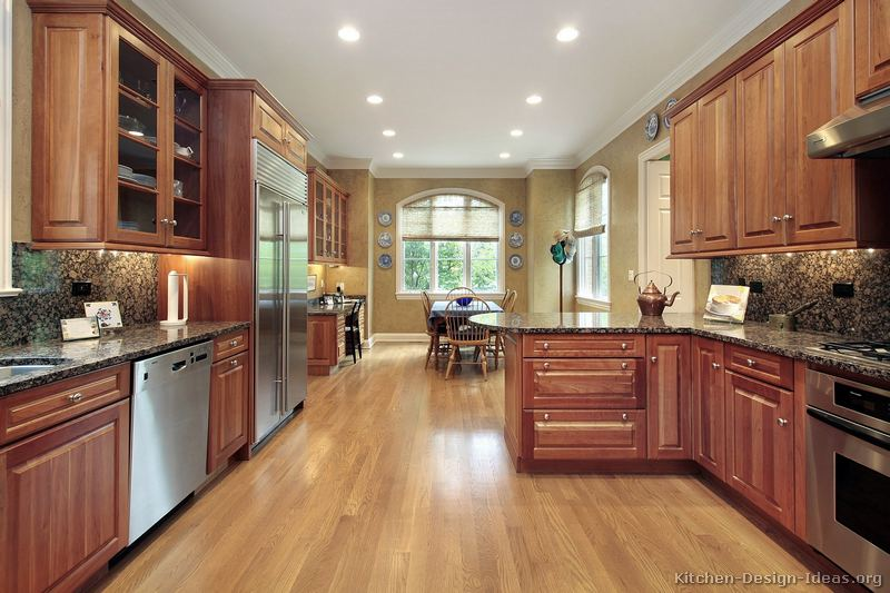 Popular Beautiful Kitchen Flooring Design Materials