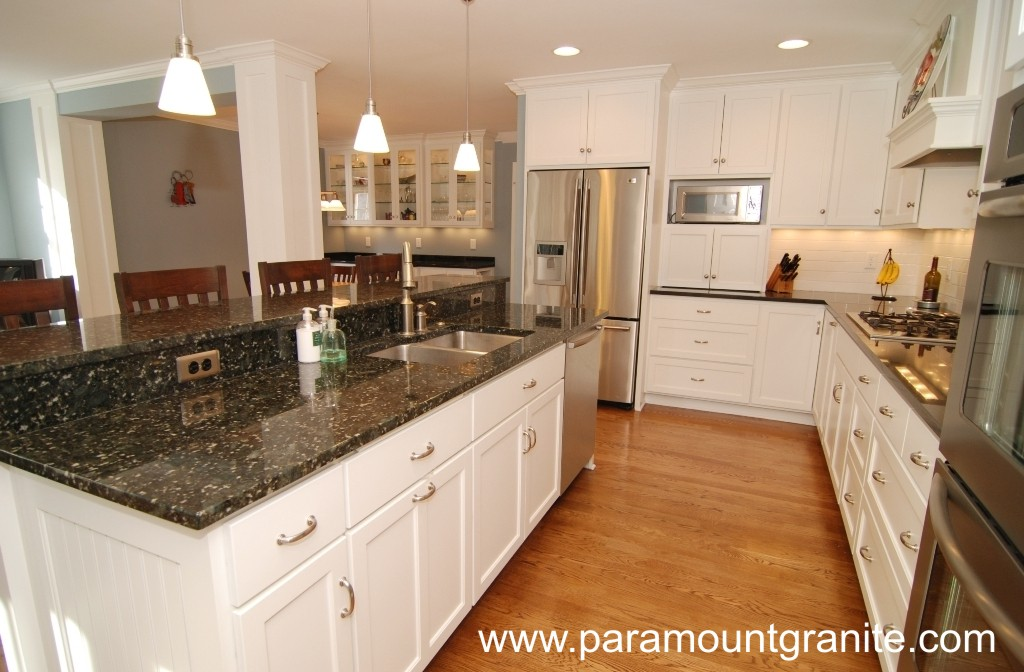 Verde Butterfly Granite Countertops Remodeling Ideas