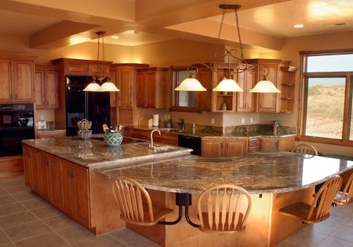 Popular Dark Color Kitchen Cabinets Design Ideas