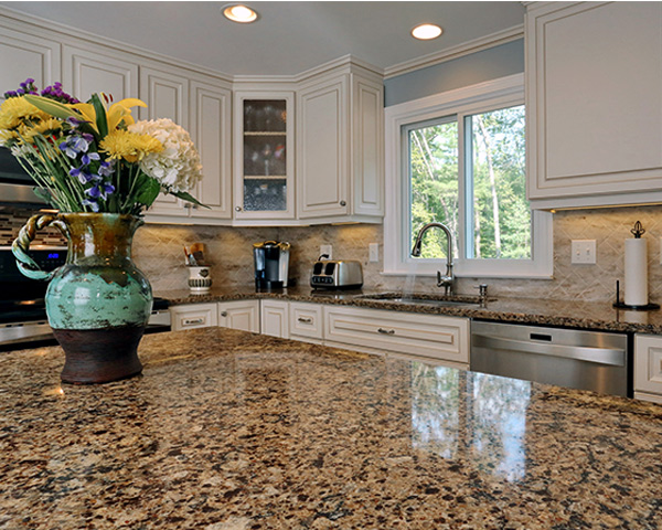 Bradshaw Cambria Kitchen Countertops White Cabinets