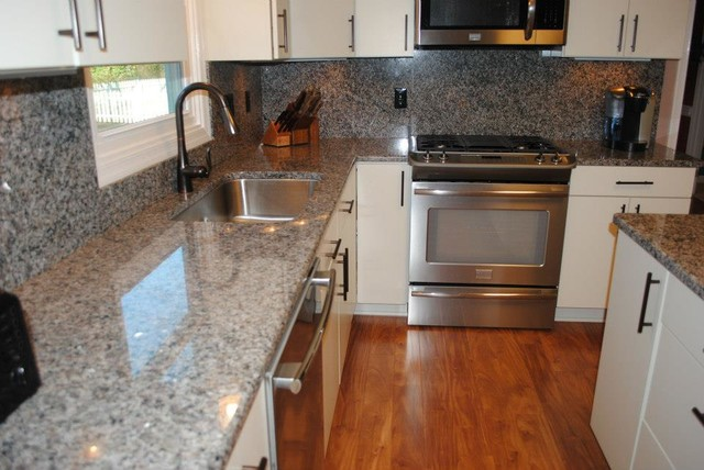 New Caledonia Granite Kitchen Countertops Design Ideas