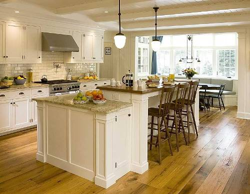 Santa Cecilia Granite Kitchen Countertops Design Ideas