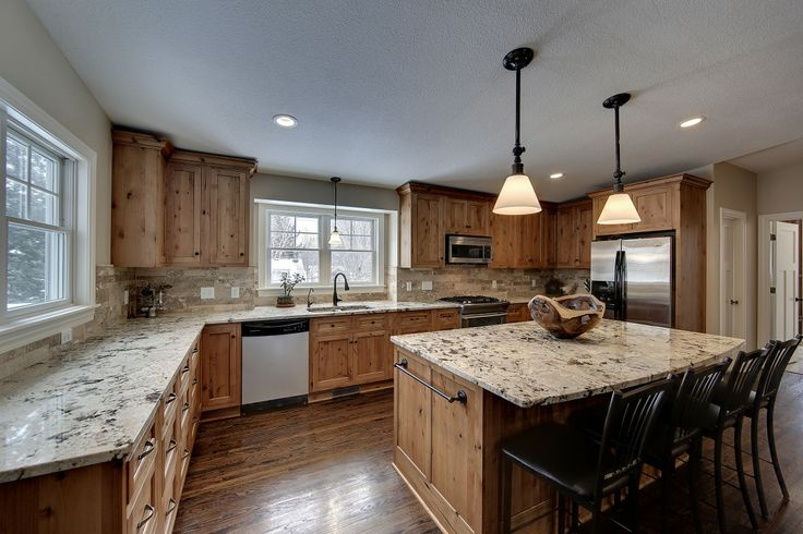 Alaska White Granite Kitchen Countertops Designs