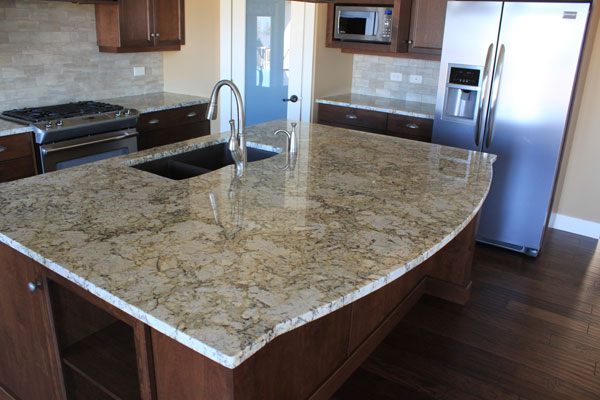 Arctic Cream Granite Countertops Kitchen Design Ideas