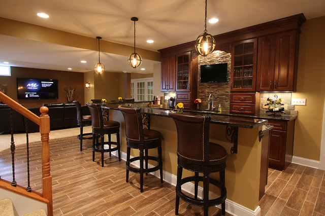Best basement wet bar granite countertops ideas - Wet bar basement ideas ...