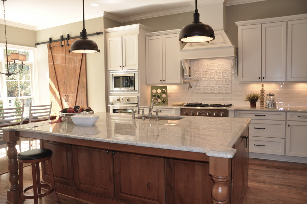 Bianco Romano Granite Kitchen Countertops Design Ideas