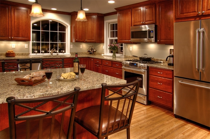New Venetian Gold Granite Countertops Design Ideas