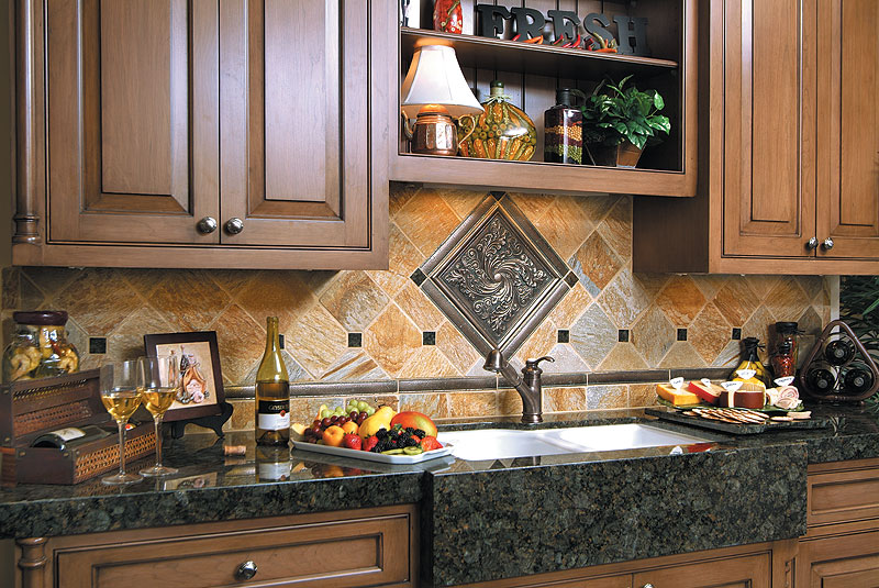 Peacock Green Granite Countertops Design Ideas