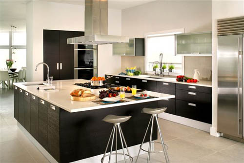 White Zeus Silestone Quartz Countertop Design Ideas