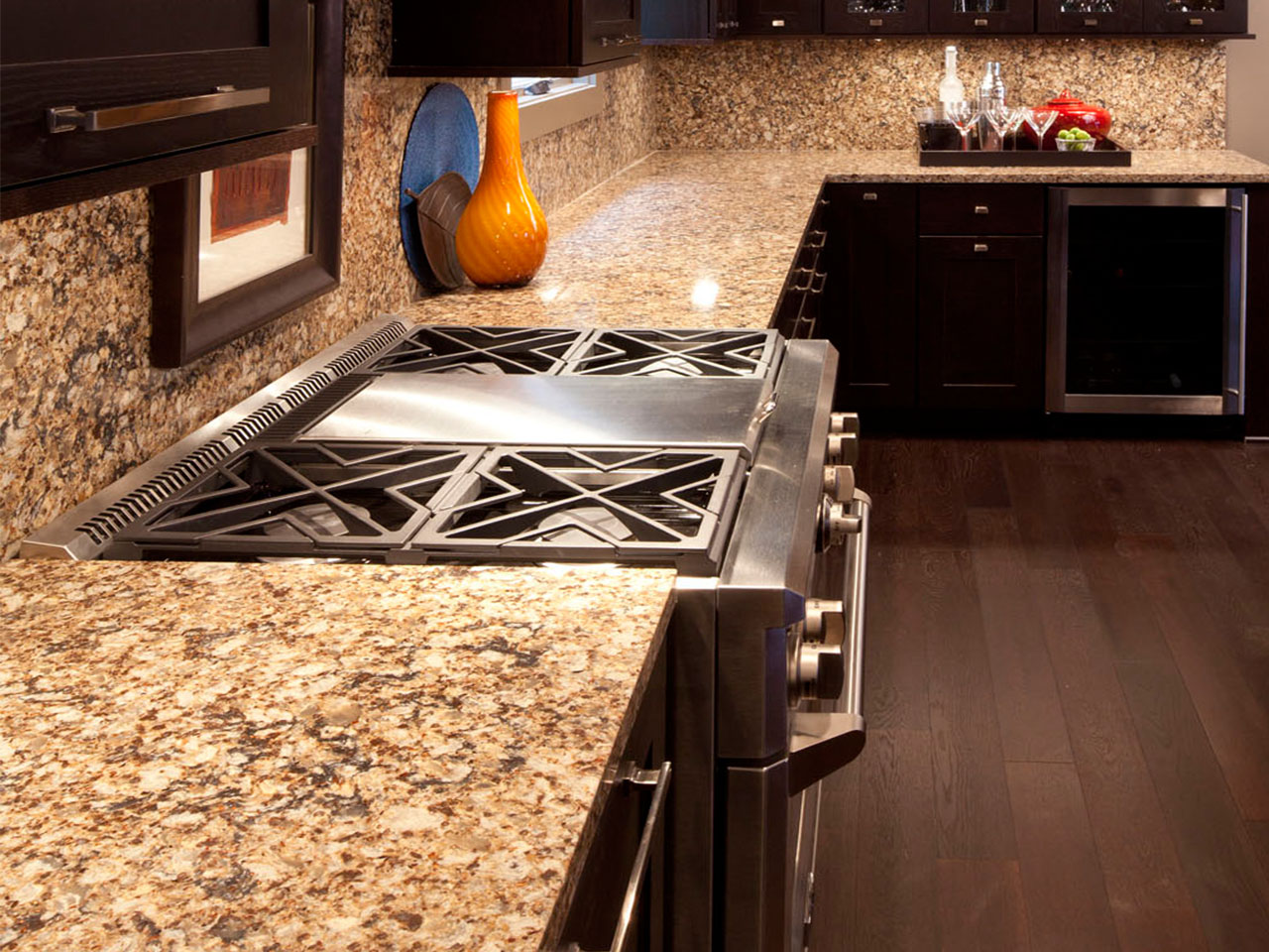 Cambria Canterbury Quartz Countertop Design
