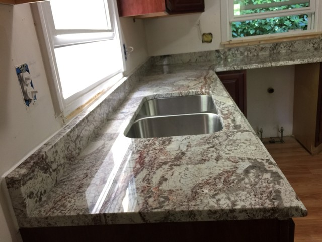 Monte Carlo Bordeaux Granite Countertops Design Ideas