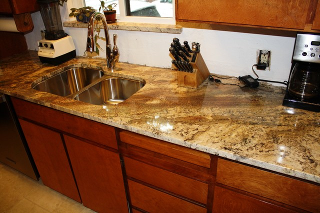 Netuno Bordeaux Granite Countertops Design Ideas