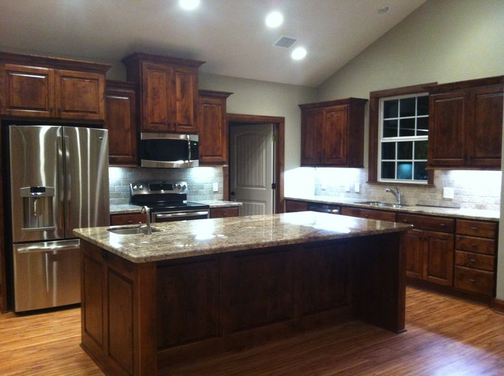 Sienna Bordeaux Granite Countertops Design Ideas