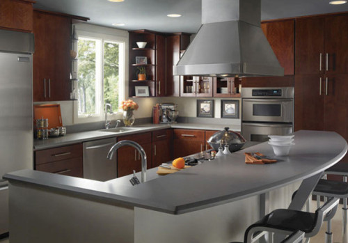 Silestone Kensho Quartz Countertop Design Ideas