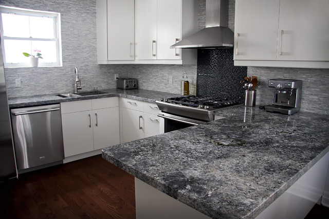 Azul Aran Granite Countertops Kitchen Design Ideas
