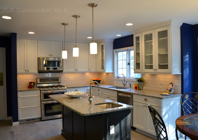 Azul Platino Granite Countertops Kitchen Design Ideas