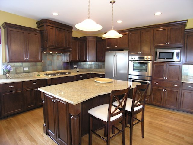 Ivory Fantasy Granite Countertops Kitchen Design Ideas