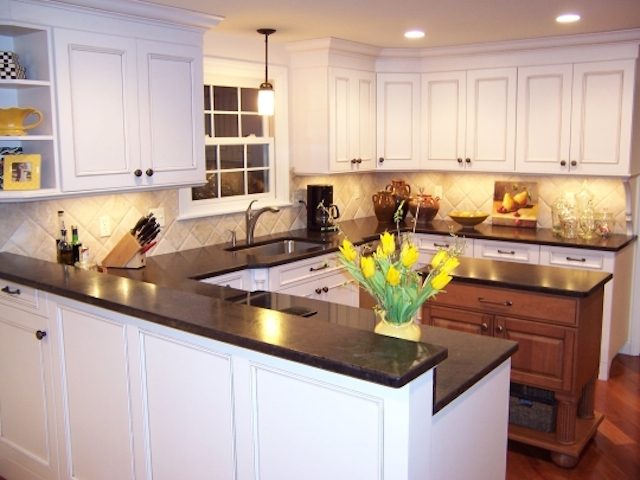 Antique Brown Granite Countertops Kitchen Design Ideas