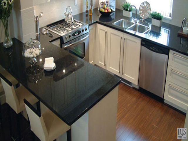 Black pearl granite countertop kitchen design ideas Kitchen design black countertops