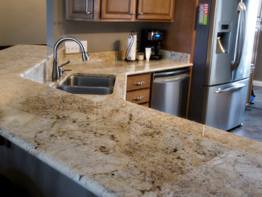 Colonial Cream Granite Countertops Design Ideas