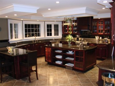 Black Galaxy Granite Dark Cabinets Backsplash Ideas