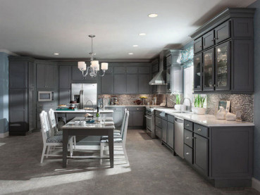 Best Modern Gray Kitchens Cabinets Design Ideas