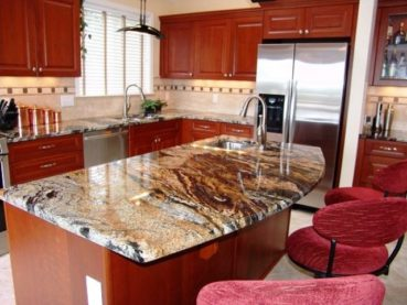 Top 13 Magma Gold Granite Kitchen Countertop Design