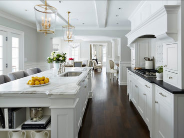 White Kitchen Cabinets White Countertops Design Ideas
