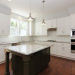 Glacier White Granite Kitchen Countertops Design Ideas