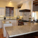 Giallo Fiesta Granite Kitchen Countertop Design Ideas