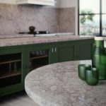 Caesarstone Turbine Grey Kitchen Quartz Countertops