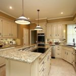 Santa Cecilia Gold Kitchen Granite Countertop Ideas