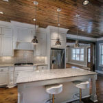Snowfall Granite Countertops Kitchen Design Ideas